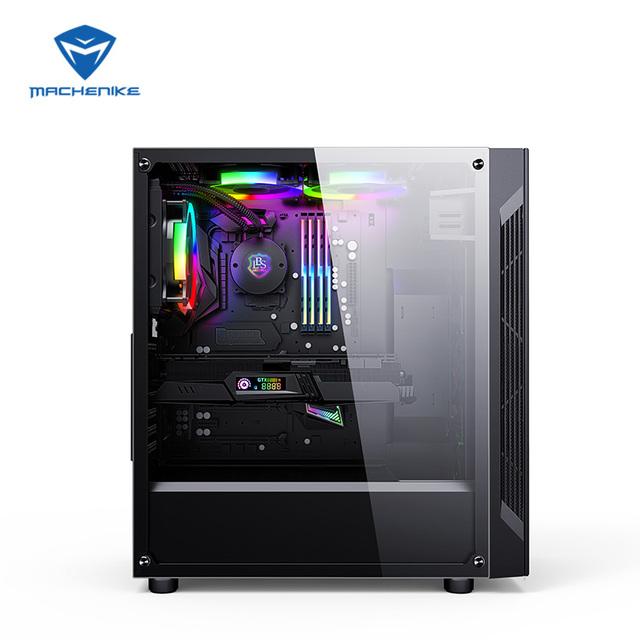 Machenike T90-T56 Intel Core i5-9400 GTX1660Ti 6G 8G RAM 256G SSD gaming computer desktop PC supported DOTA2,CSGO,GTA5, PUBG,LOL
