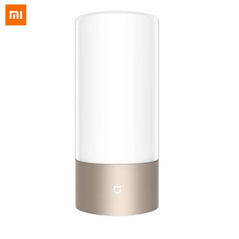 Global Version Xiaomi Mijia Yeelight LED Light Smart Indoor Night Bedside Lamp Remote Touch Control Wi-Fi Smart App Control wi fi remote control smart bulb