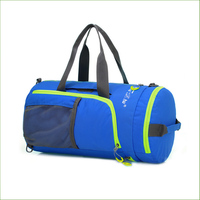 BG01 Foldable Fitness Bags Women Sport Bag Men Traning Shoulder Gym Bag Outdoor Waterproof Nylon Handbag
