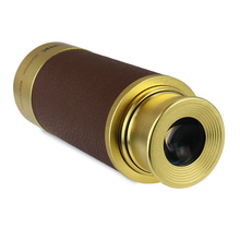 Buy online profissional 20×50 Monocular / Spy Scope / Brass Spyglass ( Gold) Perfect As a Gift binoculars monocular telescope astronomico