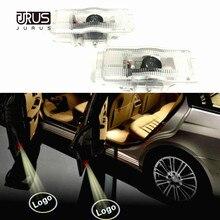 JURUS 2 шт для peugeot 508 408 3008 4008 5008 CRZ Автомобильная дверь с электроприводом Добро пожаловать логотип Световой Лазерный проектор свет подсветка для салона автомобиля