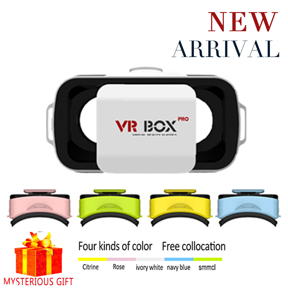 Vrbox VR Box 3.0 3 Pro 3D D Casque Lunette Virtual Reality Glasses Goggles Headset Helmet For Smartphone Smart Google Cardboard