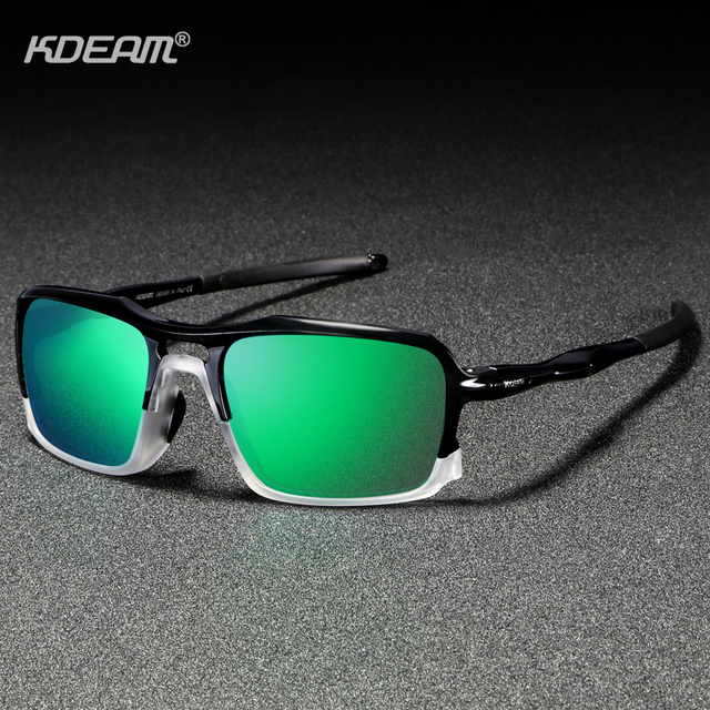 d6f885b6b9ffe1 KDEAM Sports Polarized Sunglasses Durable TR90 Frame Driving Glasses for Men  Women 5 Colors Shades For Jogging Baseball KD222