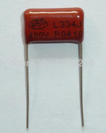 10pcs CBB Capacitor 334 400V 334J 0.33uF 330nF P15 CL21 Metallized Polypropylene Film Capacitor