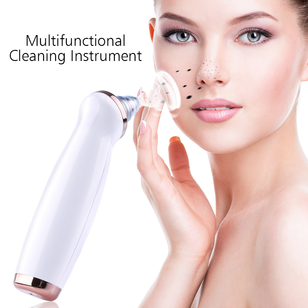 Купить с кэшбэком Pore Vacuum Acne Pimple Blackhead Remover Skin Care Face Cleaner Removal Vacuum Suction Tool Facial Machine Face Clean