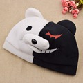 Hot Anime Anime Danganronpa Monokuma Embroidered Funny Knitted Hat Women Men Winter Hats Cap Sport Beanies Warm Hat
