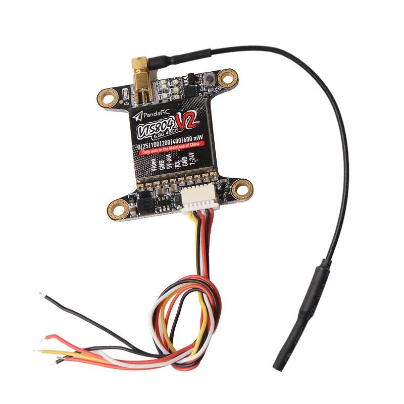 Bild Sender 5,8g 40CH SBUS swither VTX VT5804 25 mw 200 mw VT5804 PRO 25 200 600 mw Umschaltbar für DIY FPV kreuz racing drone