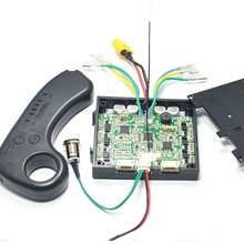 2019 New Dual Drive 180W 250W 350W Electric Skateboard Hub Motor Kits ESC And Remote Lonboard Control Board