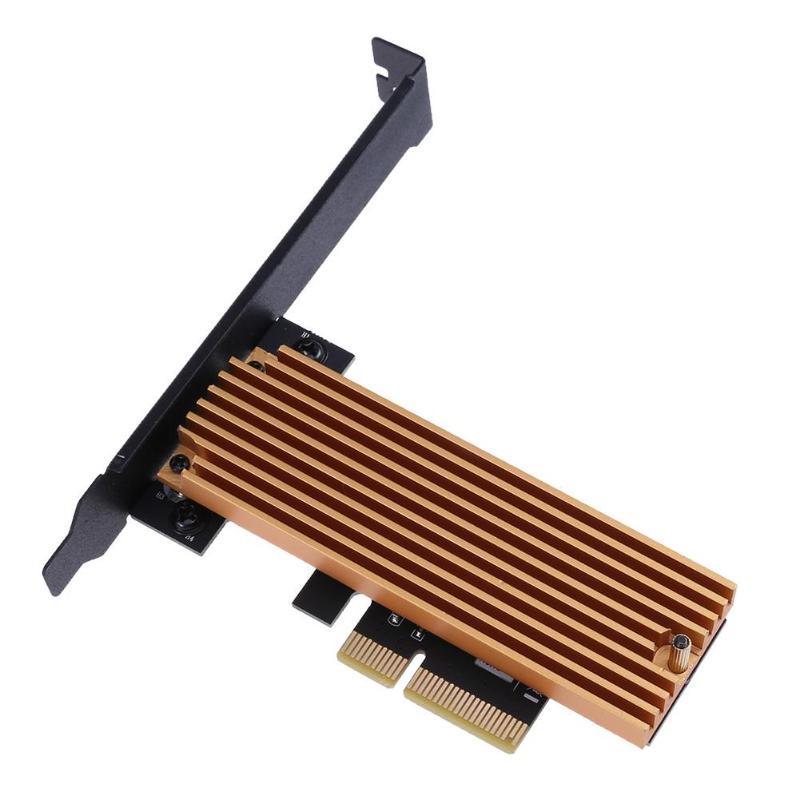 Angemessen Ngff M.2 Schlüssel M Ssd Zu Pci-e 4x Adapter Karten Mit Kühlkörper Computer Laptop Zubehör Verbindungen