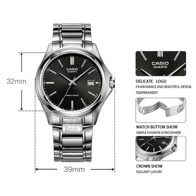 Casio Analogue Men's Quartz Waterproof Watch 1