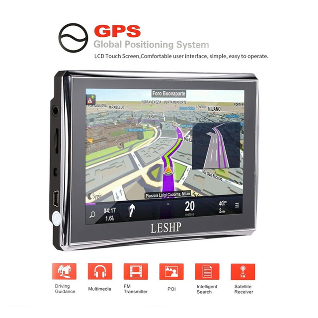 Aliexpresscom Buy LESHP HD Car GPS Global Positioning System - Gps with europe and us maps