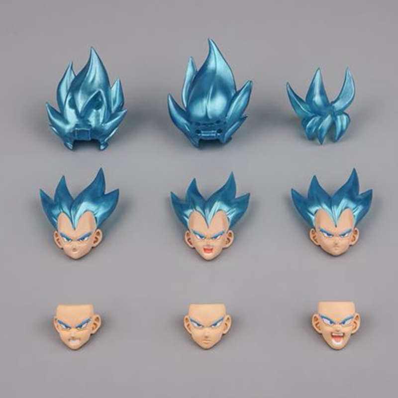 Dragon Ball Z Suit For SHF Blue Goku Vegeta Accessories Demoniaca Fit Action Figure Collection Model Dolls Brinquedos Figurals
