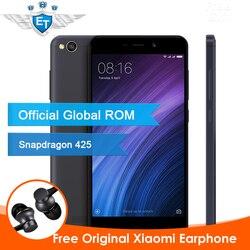 Global Version Xiaomi Redmi 4A MIUI 8 16GB 5 0 Inch Snapdragon 425 Quad Core 2GB