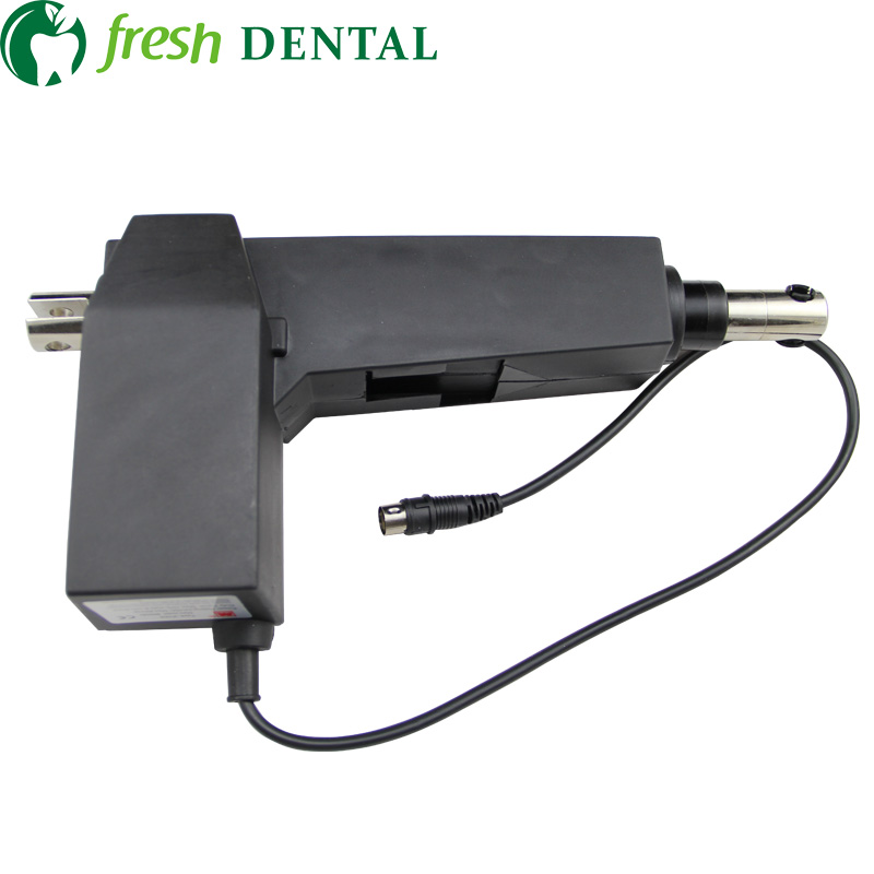 1PC Dental Chair Motor 24V DC 8000N Dental linear actuator lifting motor the movements of the chair base SL1273 the silver chair