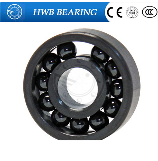 Free shipping 606 full SI3N4 ceramic deep groove ball bearing 6x17x6mm full ball bearing 606 bearing free shipping 6901 61901 si3n4 full ceramic bearing ball bearing 12 24 6 mm