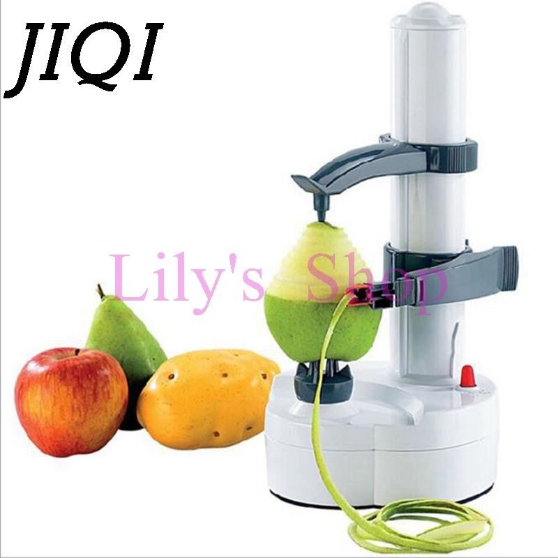 Multifunction Stainless Steel Electric Peeler Vegetable Fruit Apple Potato Peeler Peeling Automatic Cutter Machine 110V 220V multifunctional apple peeler fruit peeled tool