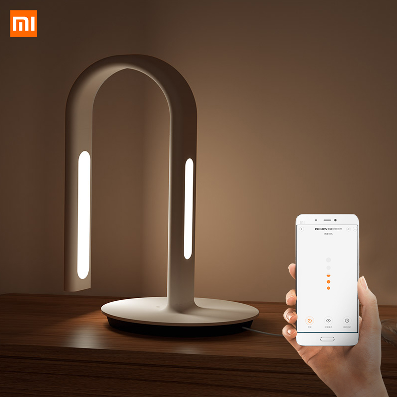 Original Xiaomi Mijia Lamp 2 Xiao Mi Eyecare App Control Smart Desk Lamp Dual Light Source