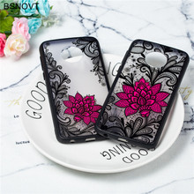 цена на For Motorola Moto G6 Plus Case Soft Lace Rose Flower Silicone Phone Case For Moto G6 Plus Cover For Moto G6 Plus Funda BSNOVT