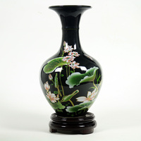 Fashion Antique Decorative Small Vase Jingdezhen New Chinese Style Living Room Shelf Display Vase Retro Ceramic Small Vase 20