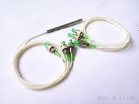 1310/1550nm Dual Window 33/33/33 Coupling Ratio FC/APC stainless steel tube 3x3 FBT Coupler FBT Splitter