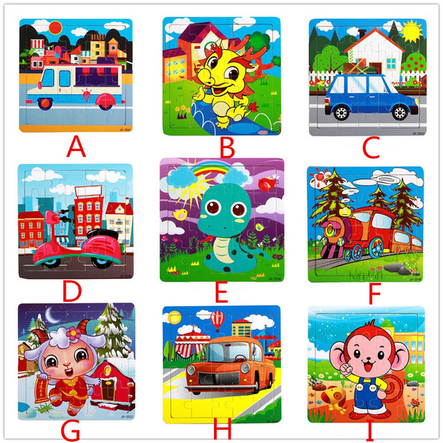 87638cb8275b7 USPS shipping Wooden Puzzle Educational Developmental toys Baby Kids  Training puzzles for children jigsaw puzzle Jouet Enfant