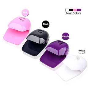 Image 2 - Nail Dryer Fan For Nails Drying Machine for Gel Varnish Home Portable Polish Curing Machines Apparatus Nail Art Fan Dryer