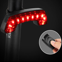 BASECAMP Bike Light Wireless Remote Control Rear Light Steering with Horns Electric Bell USB charging Lamp for Bike Accessories|Bicycle Light| |  -