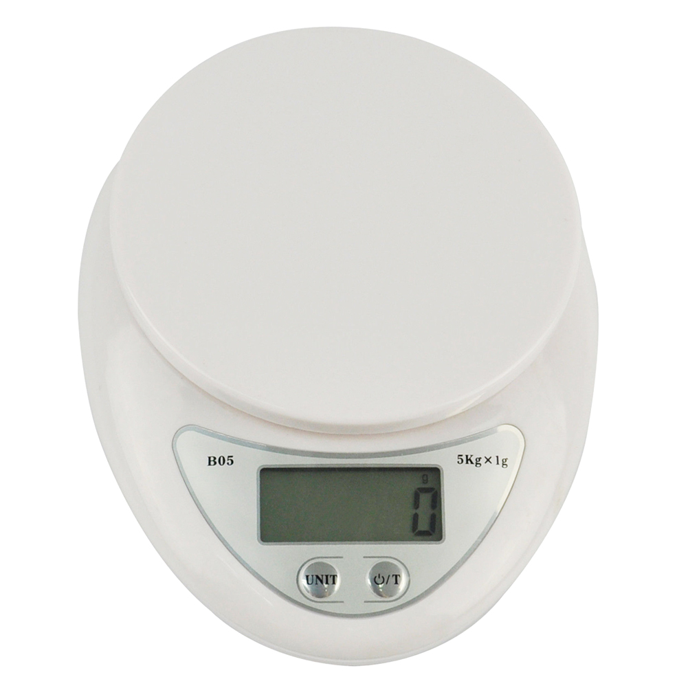 Digital Kitchen Scales Electronic Up to 5kg Libra Food Cooking ...