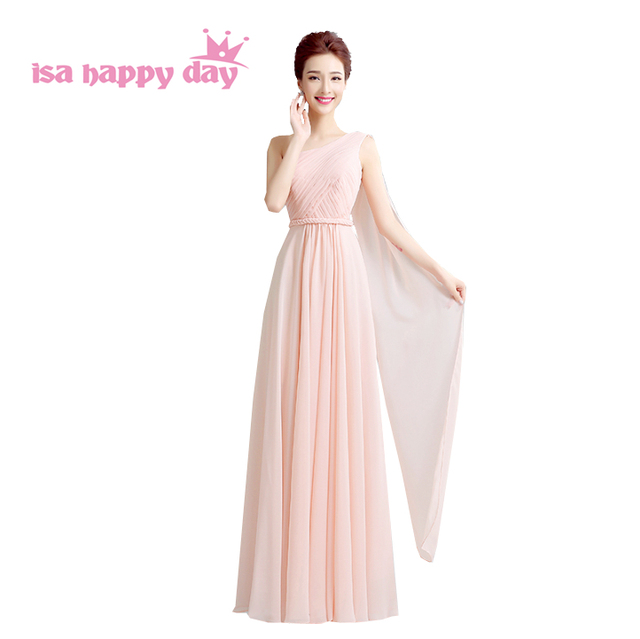 real picture women floor length dress plus size prom pink nude long ...