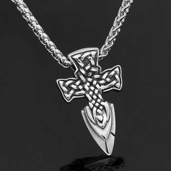 Nordic Viking Freyr Sword Amulet Pendant Necklace  Viking Necklace