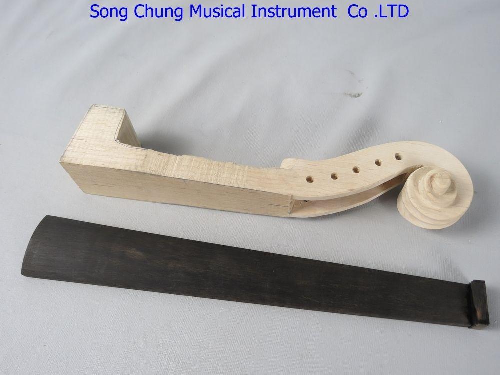 Diplomatic 5 Strings 4/4 Violin Maple Neck And Violin Ebony Fingerboard,violin Part Easy To Repair Musical Instruments