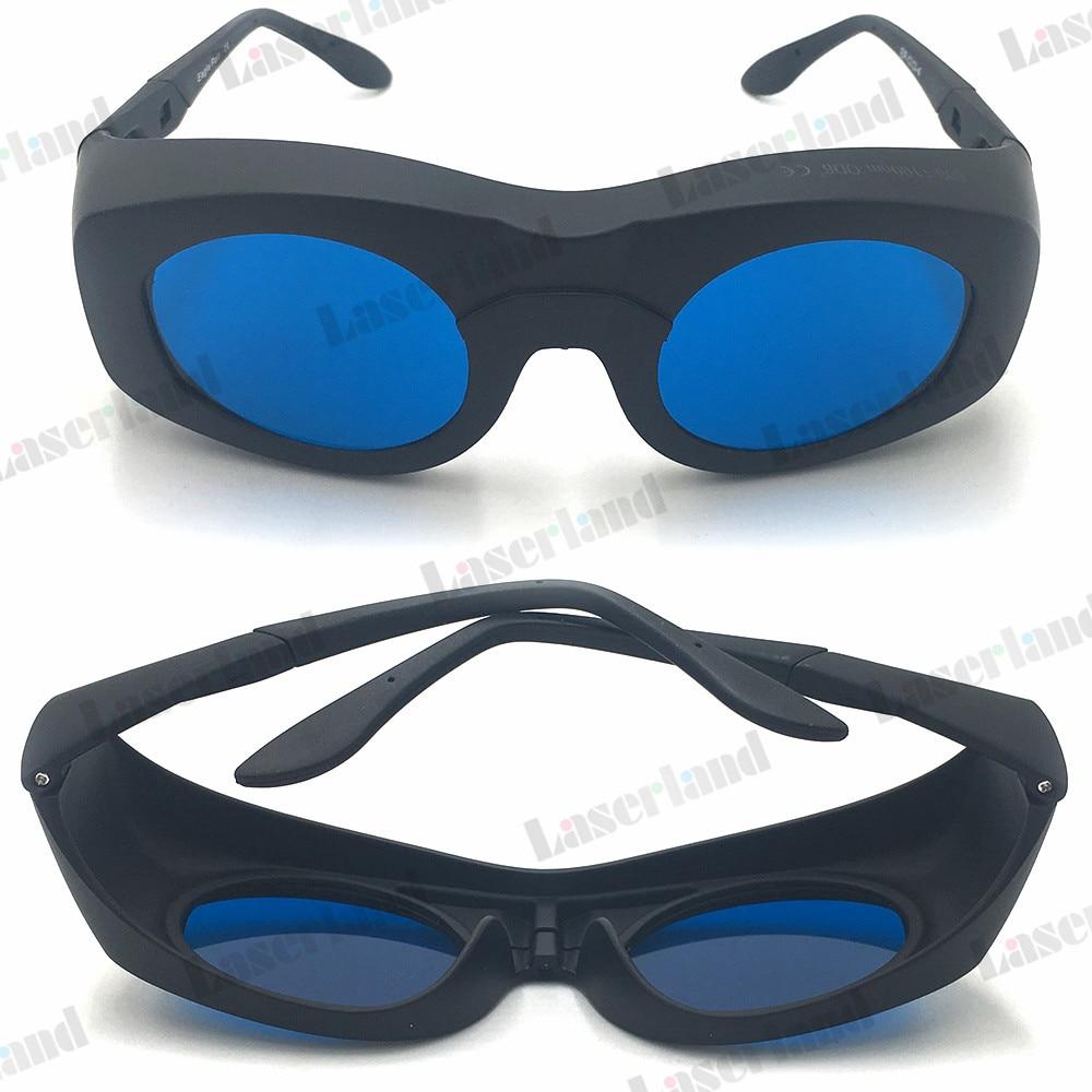 цена на 600-650nm-780nm-808nm-980nm-1064nm-1100nm OD6+ Laser Protective Goggles Glasses