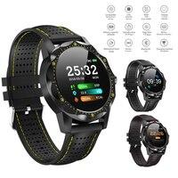 men waterproof SKY 1 Smart Watch IP68 Waterproof Fitness Tracker Heart Rate Monitor Blood Pressure Women Men Clock For Android IOS Phone (1)
