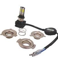 2pcs Hot Moto LED Headlight 24w Led H4 H6 BA20D Moto Accessories Led Bulb Hi Lo