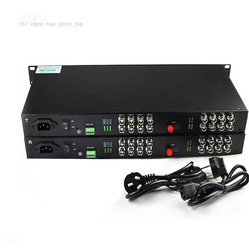 A Pair FC interface 16 channels Video optical transceiver reverse data with single multi-mode single fiber RS485 PAL SECAM A Pair FC interface 16 channels Video optical transceiver reverse data with single multi-mode single fiber RS485 PAL SECAM