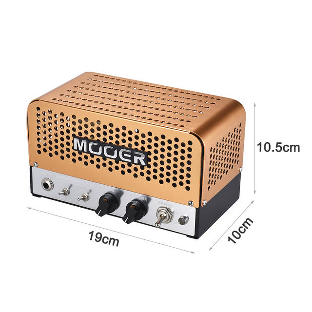 US $208 0 |MOOER LITTLE MONSTER BM Guitar Amplifier Mini 5W All tube Guitar  Amp Amplifier with Carry Bag Guitar Parts & Accessories-in Guitar Parts &