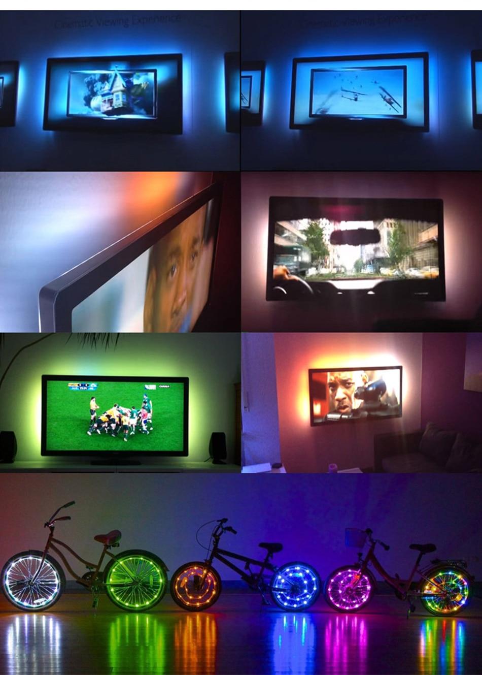 HTB1IskYX6zuK1RjSspeq6ziHVXaG USB LED Strip DC 5V Flexible Light Lamp 60LEDs SMD 2835 50CM 1M 2M 3M 4M 5M Mini 3Key Desktop Decor Tape TV Background Lighting