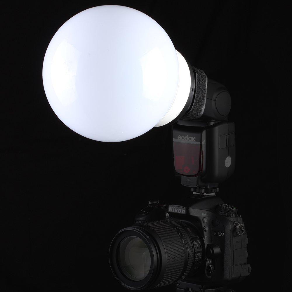 SUPON Soft Ball Light Diffuser Shell For Flash Speedlight For Can Nik Son Sig Olym Min Yongnuo Metz Neewer Godox Flash Speedlite