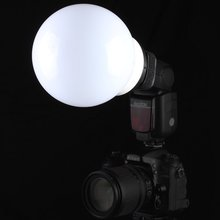SUPON Soft Ball Light diffuser shell for flash speedlight for Can Nik Son Sig Olym Min Yongnuo Metz Neewer Godox flash Speedlite