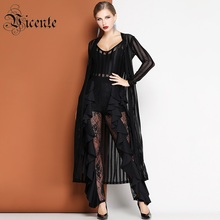 3467b3aad7269 Buy nylon ladies suits lace design and get free shipping on ...
