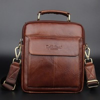 2017 Men S Messenger Bags Genuine Leather Handbags Famous Brand Men Fashion Casual Shoulder Bags Handbags