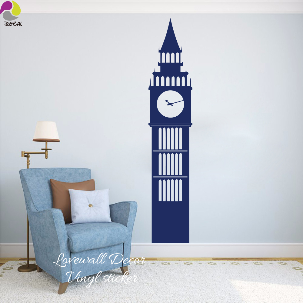 Londra Big Ben di Viaggio Punti di Riferimento Wall Sticker ...