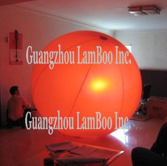 Горячий большой надувной красный воздушный шар с подсветкой внутри/ /отлично подходит для мероприятий, продвижение, реклама/впечатляющий