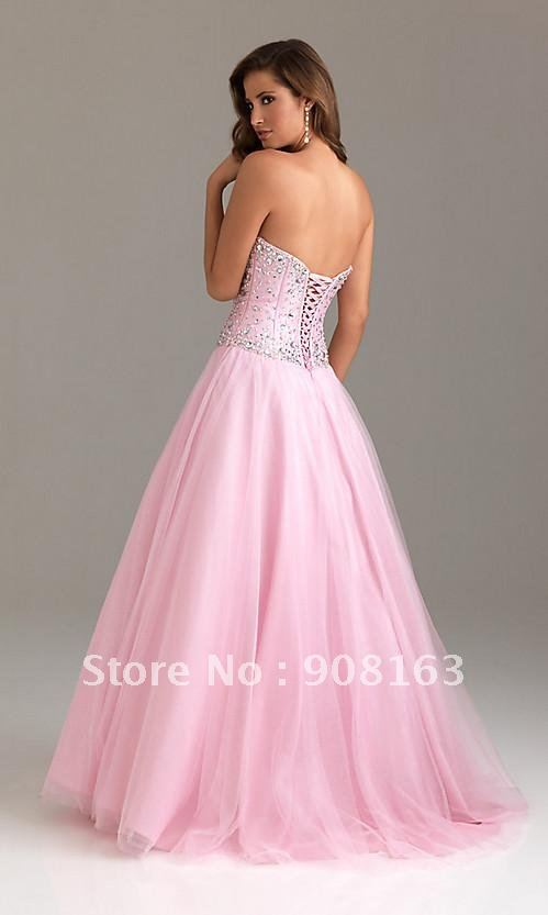 Sweetheart Corset Prom Dress
