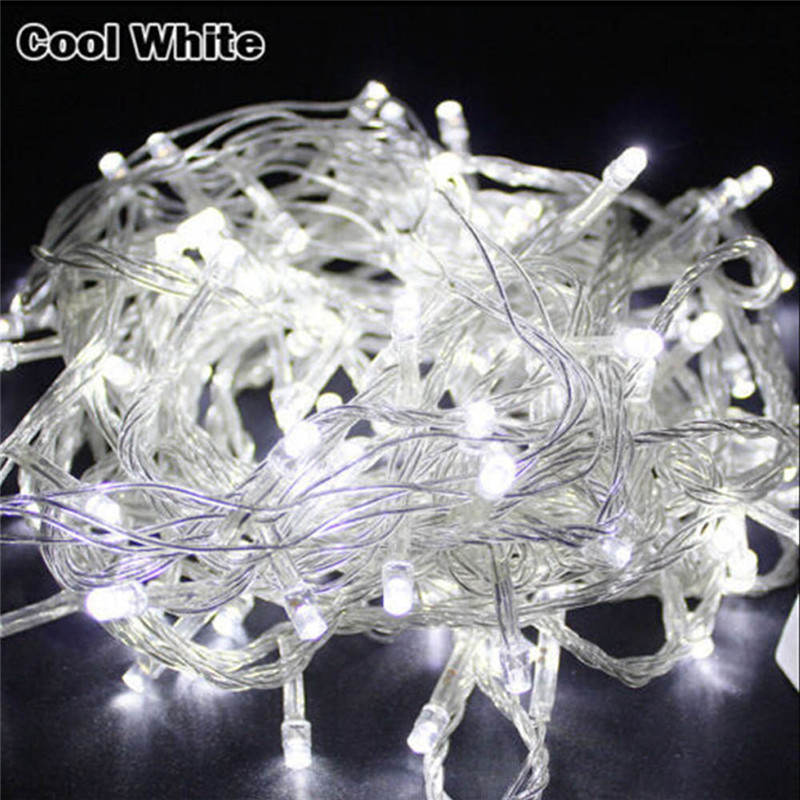 Holiday Lights 10M 20M 30M 50M 100M Led String Fairy Light 8 Modes Christmas Lights For Wedding Party Garlands Decorative Lights