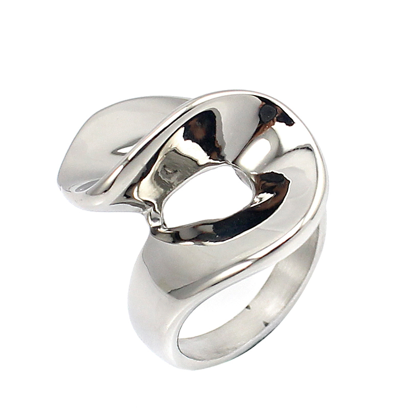 free shipping handmade stainless steel ring