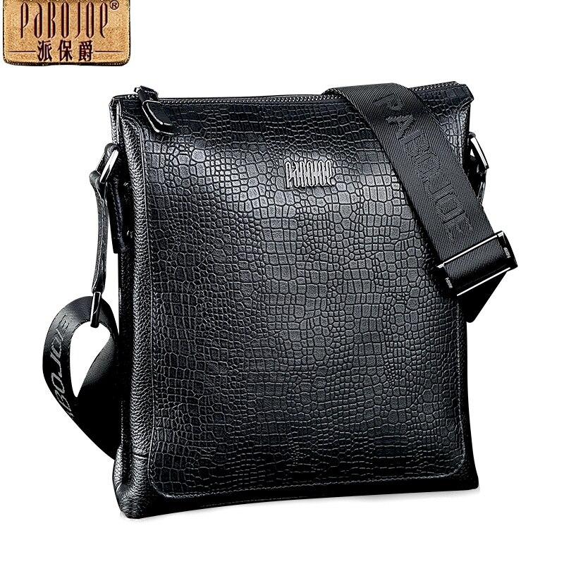 Здесь продается  Pabojoe  Men bag handbag  mens  shoulder bags  alligator casual messenger bag business men
