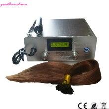 Maquina Para Extensiones גבוהה-סוף האחרון דיגיטלי קולי מכונה מחבר דגם מספר JR-999 קרטין תוספות שיער כלים