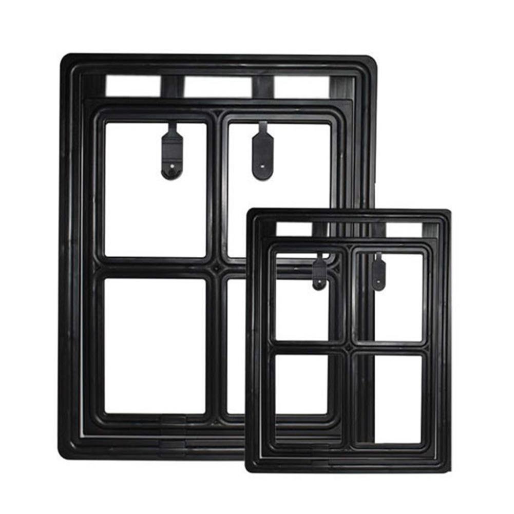 Pets Free To Enter And Exit The Door Cat Door Screen Window Dog Pet Door Lockable Dropshipping