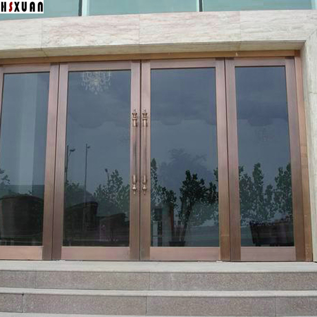 office line window decorative fine commercial glass residential before after door doors film